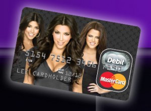 Image result for kardashian prepaid card